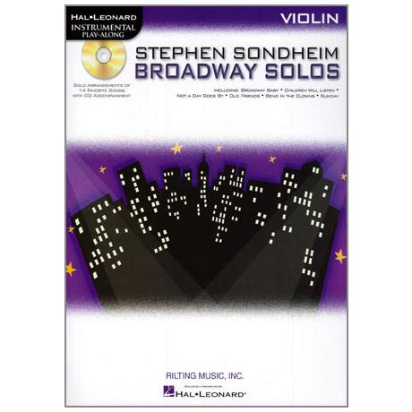 Sondheim, St.: Broadway Solos (+CD)