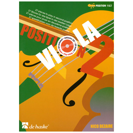 Dezaire, N.: Viola Position 2 (+CD)