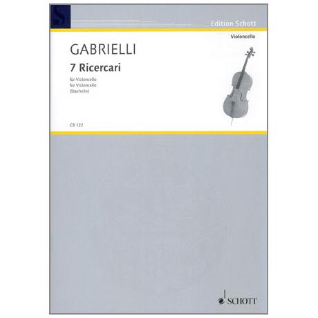 Gabrielli, Domenico: 7 Ricercari