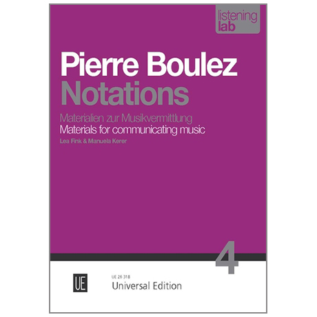 Fink, L. / Kerer, M.: Pierre Boulez »Notations«