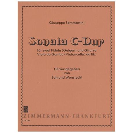 Sammartini, G.: Sonata C-Dur