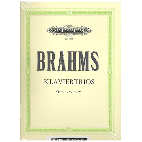 Brahms, J.: Sämtliche Klaviertrios (Schumann)