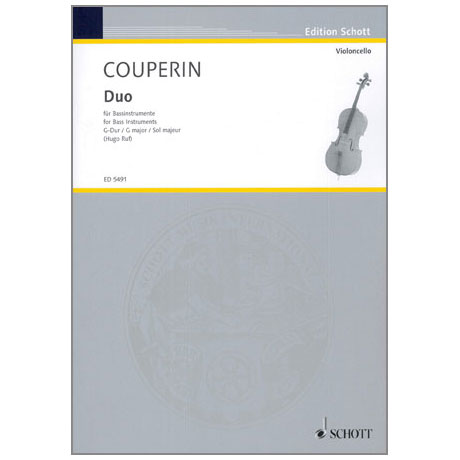 Couperin, F.: Duo G-Dur