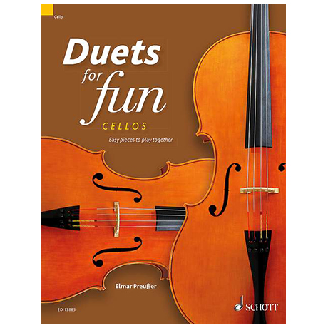 Preußer, E.: Duets for fun – Cellos