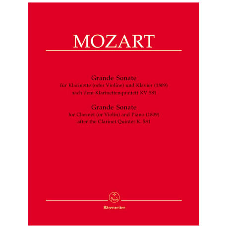 Mozart, W.A.: Grand Sonate in A-Dur