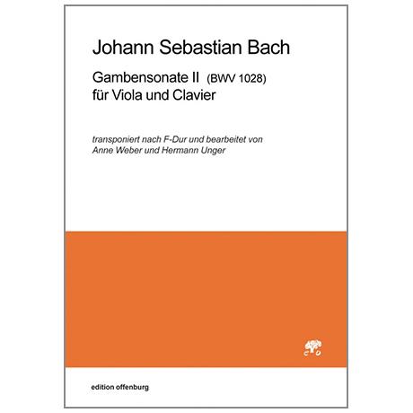 Bach, J. S.: Gambensonate II BVW1028