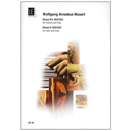 Mozart, W.A.: 2 Duos KV 423, KV 424