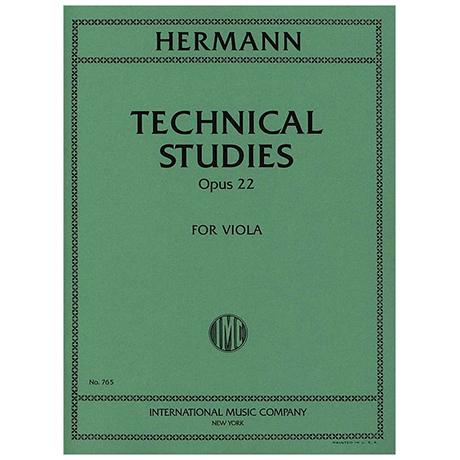 Hermann, F.: Technical Studies op. 22
