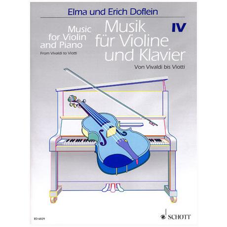 Musik für Violine und Klavier - Band 4