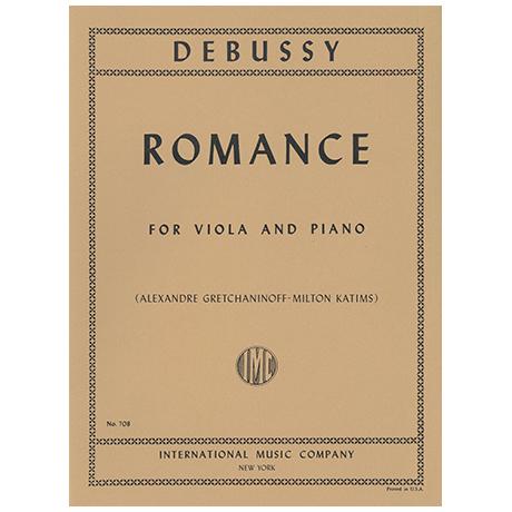 Debussy, C.: Romance