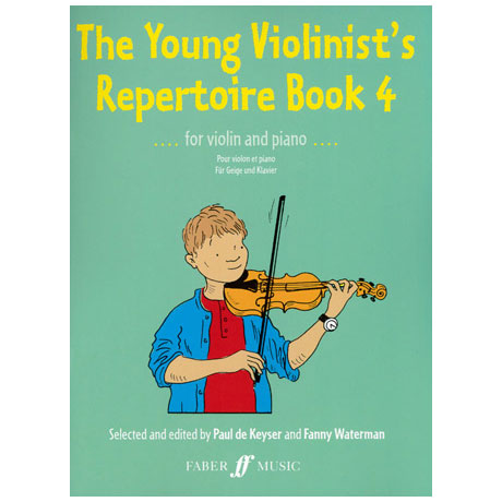 The young Violinist's Repertoire Band 4