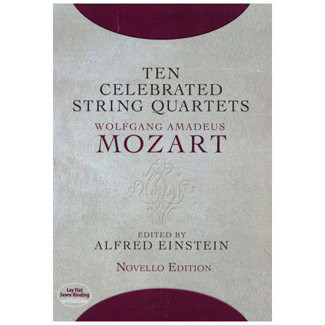 Mozart, W.A.: Ten Celebrated String Quartets