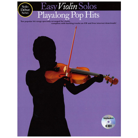 Easy Violin Solos – Playalong Pop Hits (+CD)