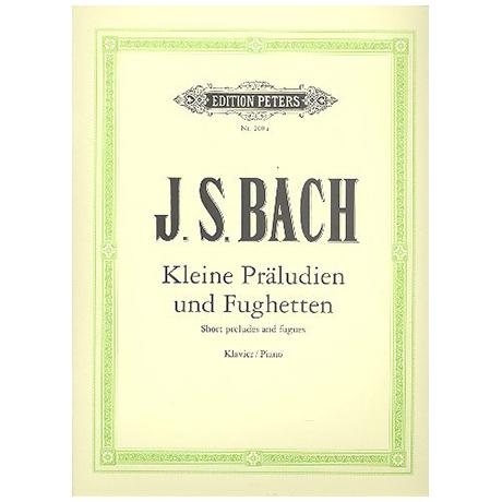 Bach, J.S.: 24 Kleine Präludien und Fughetten