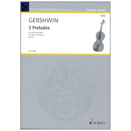 Gershwin: 3 Preludes