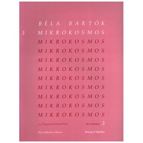 Bartók, B.: Mikrokosmos Band 3