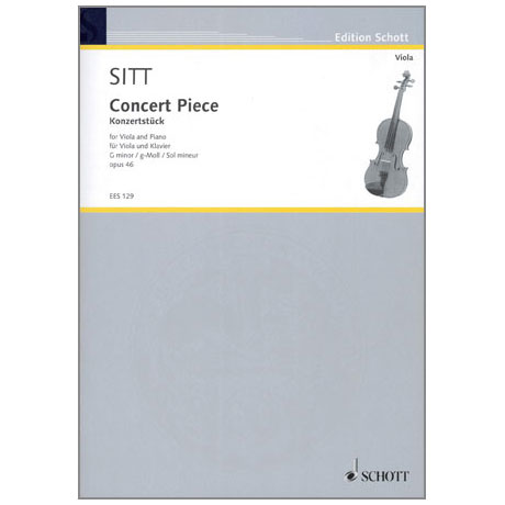 Sitt, H.: Konzertstück Op.46 g-moll