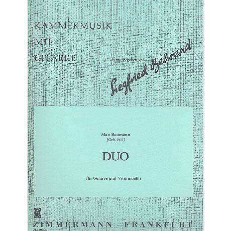 Baumann, M.: Duo Op.62