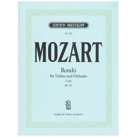 Mozart, W.A.: Rondo C-Dur, KV 373