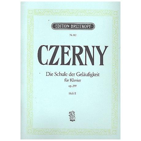 Czerny, C.: Die Schule der Geläufigkeit op. 299 Heft II