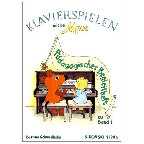 Klavierspielen mit der Maus - pädagogischer Begleitband