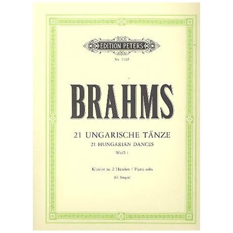 Brahms, J.: Ungarische Tänze 1 - 21