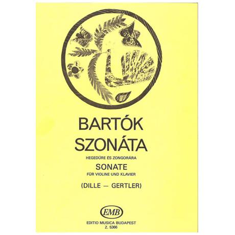 Bartók, B.: Violinsonate (1903)
