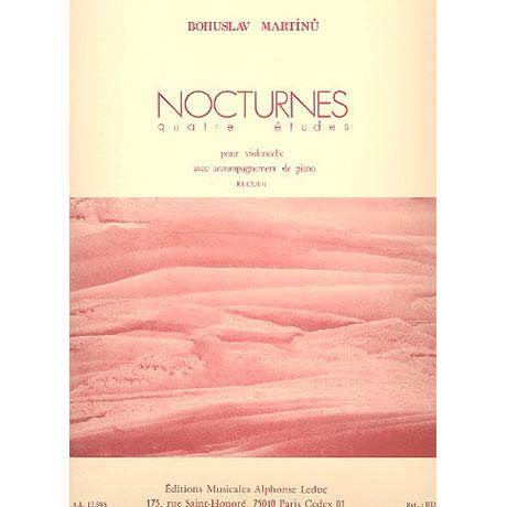 Martinu, B.: Nocturnes, 4 études
