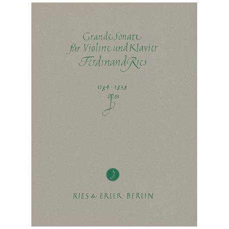 Ries, F.: Grande Violinsonate Op. 83