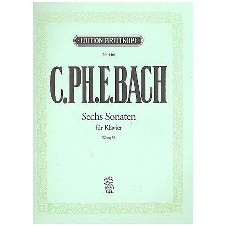 Bach, C.Ph.E.: Sechs Klaviersonaten Wq 55