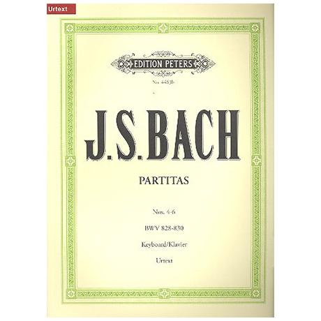 Bach, J.S.: Partiten (Klavierübung Teil I) Band II BWV 828-830