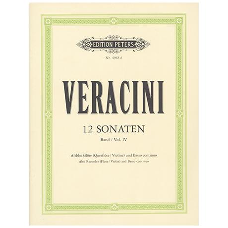 Veracini: 12 Sonaten Band 4