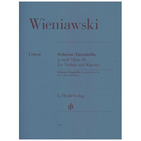 Wieniawski, H.: Scherzo-Tarantella g-Moll Op. 16