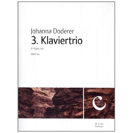 Doderer, J.: 3. Klaviertrio DWV64