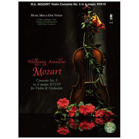Mozart, W.A.: Violinkonzert Nr.5 A-Dur KV 219 (+CD)