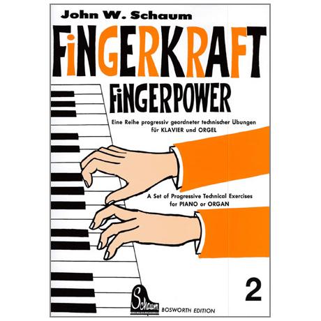 Schaum, John W.: Fingerkraft Band 2