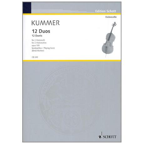 Kummer, F.A.: 12 Duos Op.105