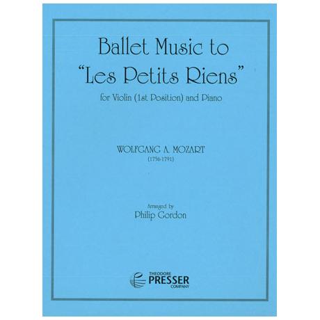 Mozart, W.A.: Ballettmusik »Les petits riens« KV 299b (Anh.10)