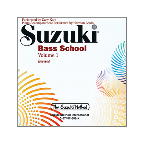 Suzuki Bass School Vol.1 – CD