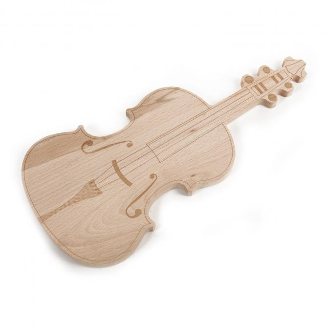 Schneidebrett Violine