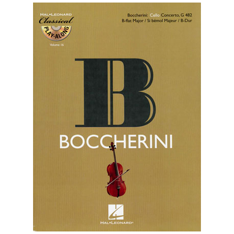 Boccherini, L.: Konzert in B-Dur G 482 (+CD)