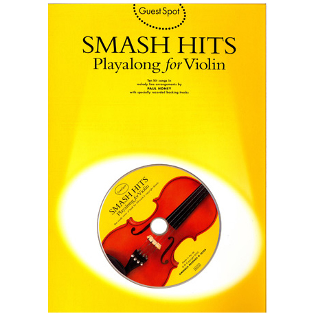 Smash Hits Playalong For Violin (+CD)