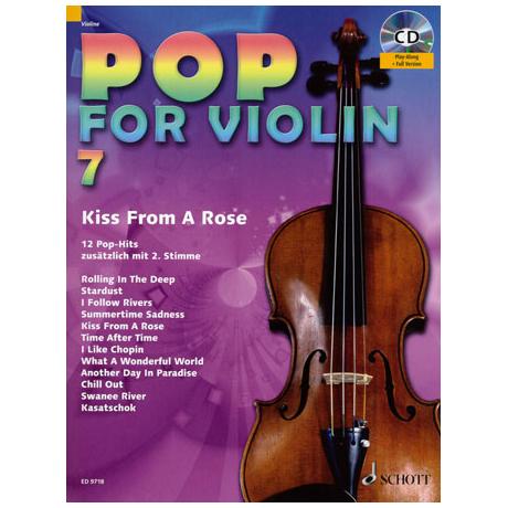 Pop for Violin Vol.7 (+CD)