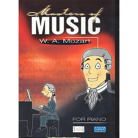 Masters Of Music: Mozart, W.A.
