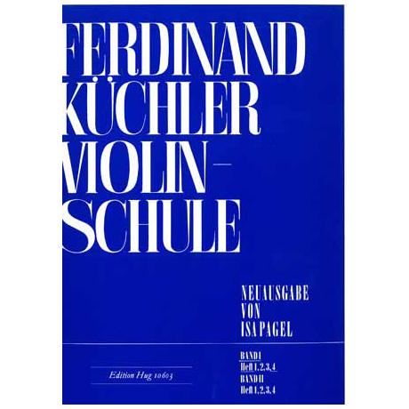 Küchler, F.: Violinschule Band 1 Teil 4