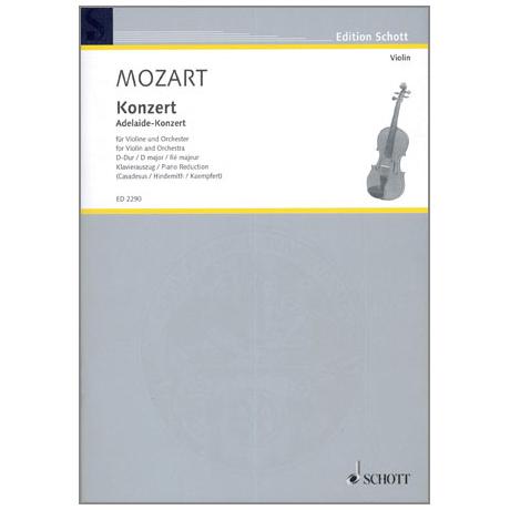 Mozart, W.A.: Konzert D-Dur