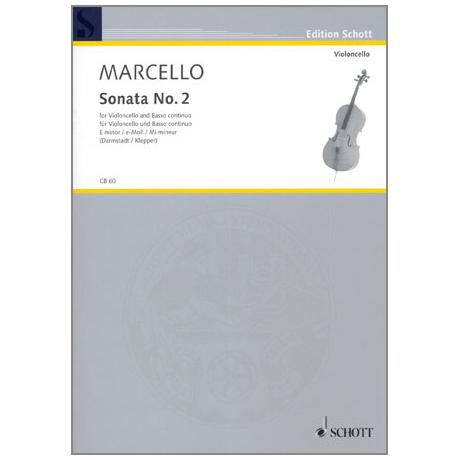 Marcello, Benedetto: Sonata No. 2 e-moll