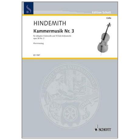 Hindemith, P.: Kammermusik Nr. 3 Op. 36/2