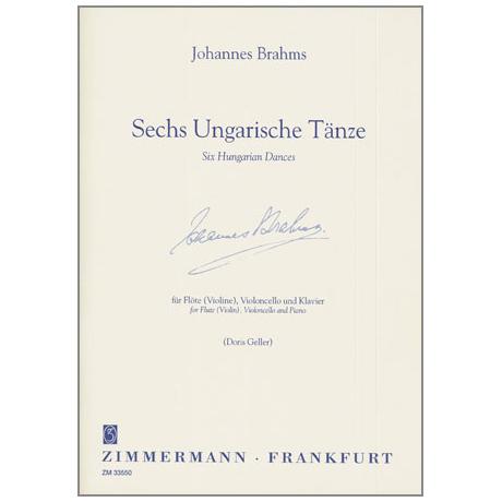 Brahms, J.: Sechs Ungarische Tänze
