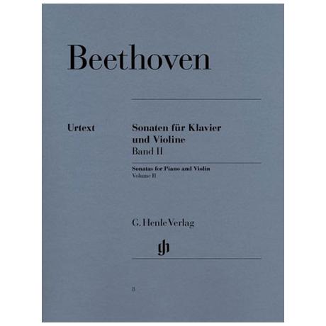 Beethoven, L. v.: Sonaten Band 2 Op. 30,1-3; Op. 47+96